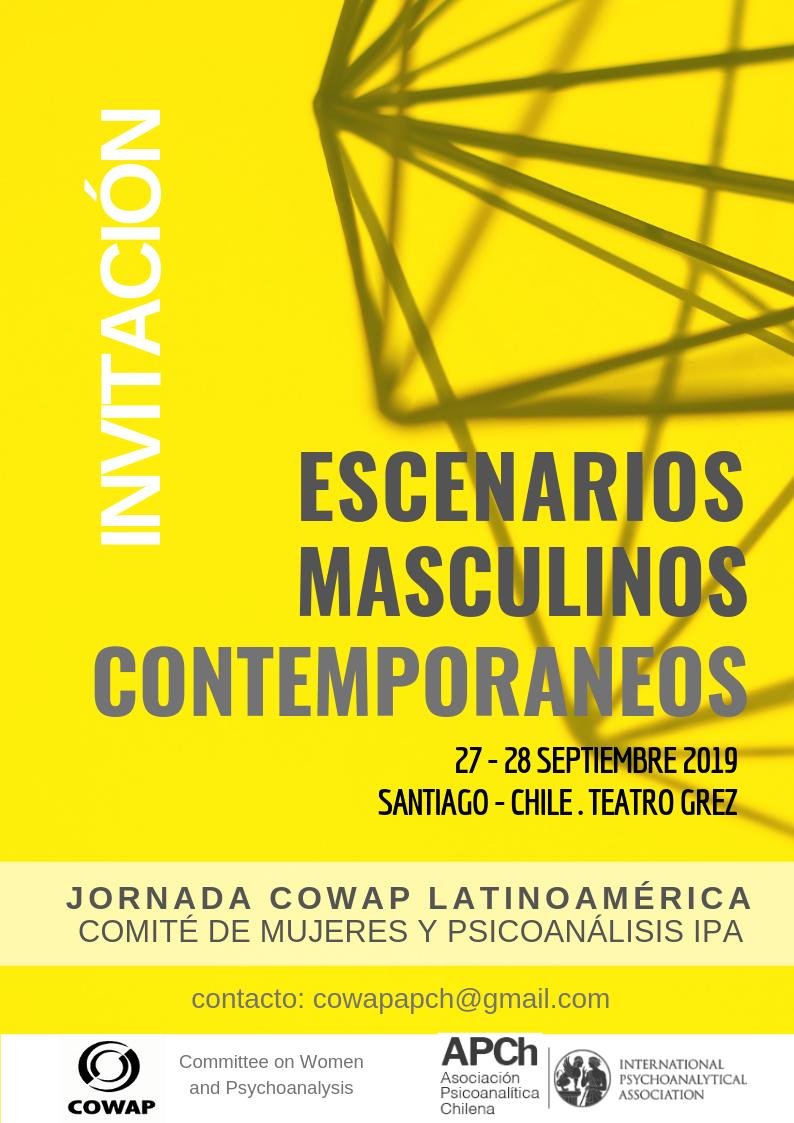 COWAP EN CHILE ESCENARIOS MASCULINOS CONTEMPORANEOS